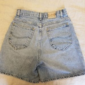 Vintage Lee denim shorts